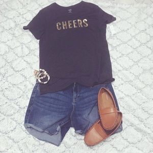••Old Navy Cheers Tee••